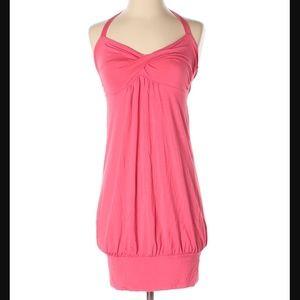 "Victoria's Secret coral ""bra top"" dress sz. S"